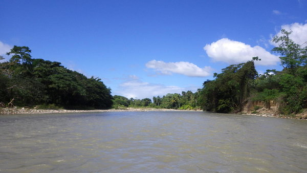 The river Bajabonico close to the 27 waterfalls of Damajagua