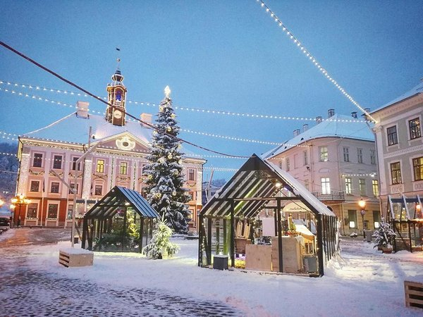 Tartu in winter. Photo: visitestonia.com