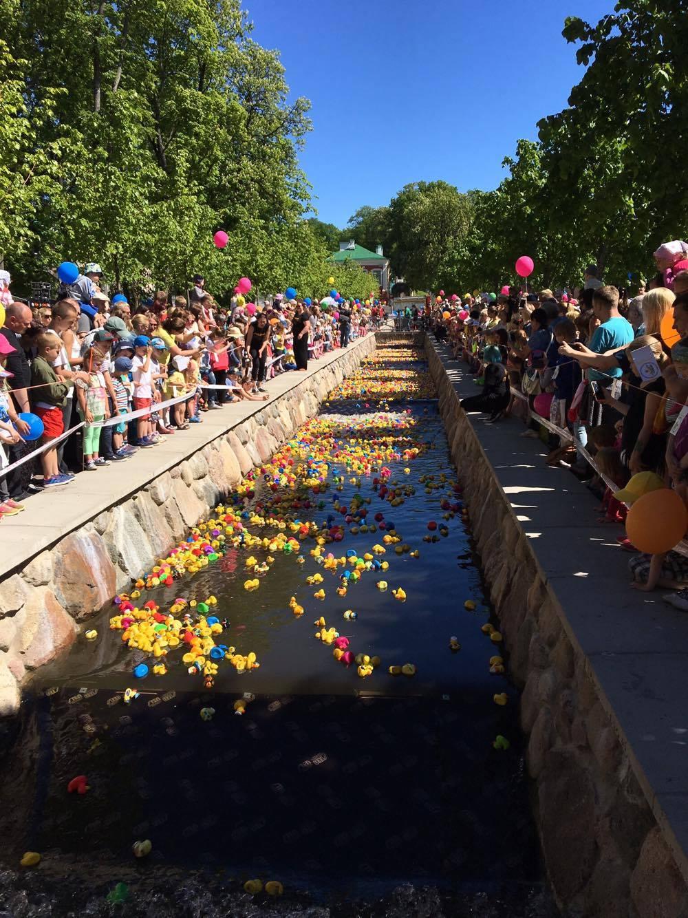 37727d58e14 Enam kui 11 000 kummiparti asusid Kadrioru pargis võistlustulle, et seeläbi  toetada vähihaigete laste ravi.17 juuni 2017