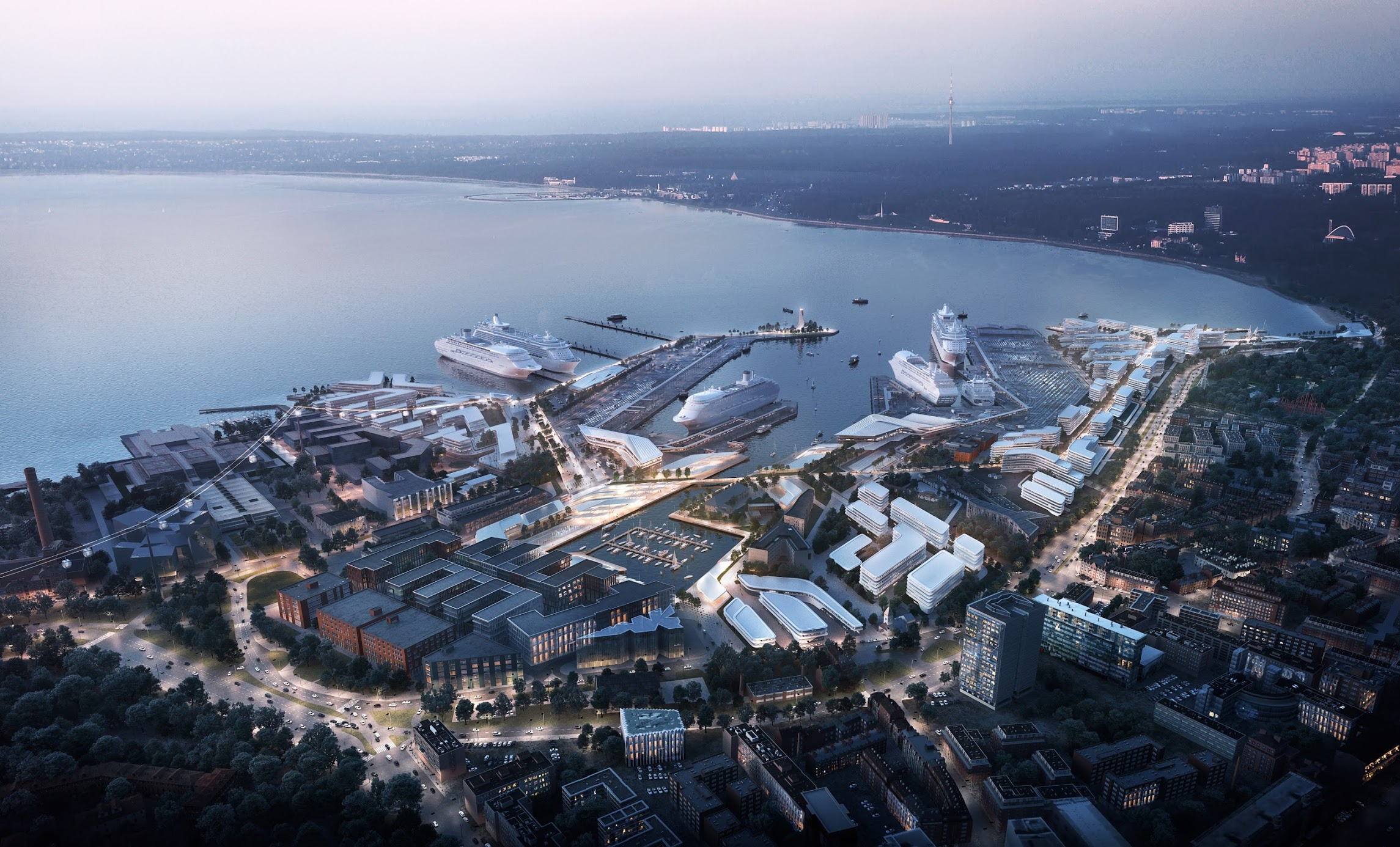 Port of Tallinn Masterplan 2030 (ZHA)