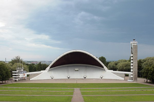 Tallinn Song Festival Stage. Architect Alar Kotli, 1960. Photo: Martin Siplane