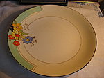 e5610b4580c Portselanist kohvitass, alustass ja koogitaldrik. Burleigh, 1920. aastad. /  Porcelain cup saucer plate trio. Burleigh, the 1920s.