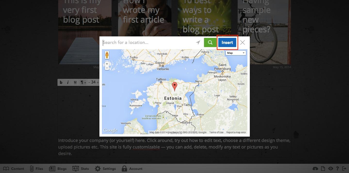 Google Maps – Voog. Beautiful websites that speak foreignese on google maps tools, google maps bulletin board, google maps grid, google map of asia pacific, google maps full screen, google maps window,