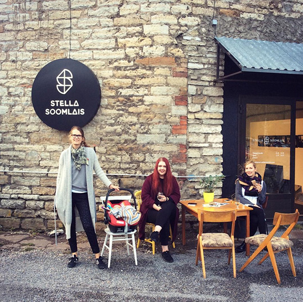 Stella's new studio in Depoo, Tallinn
