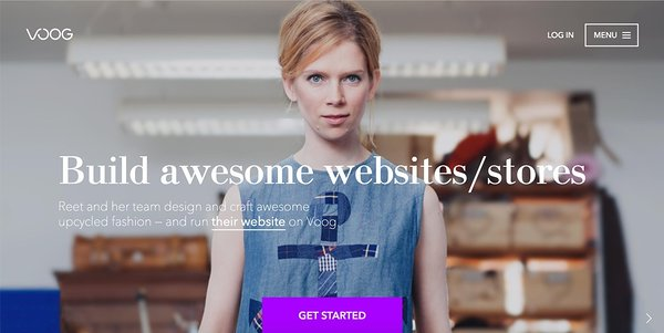 Voog brings you a beautiful online store site, and multilingual support as standard
