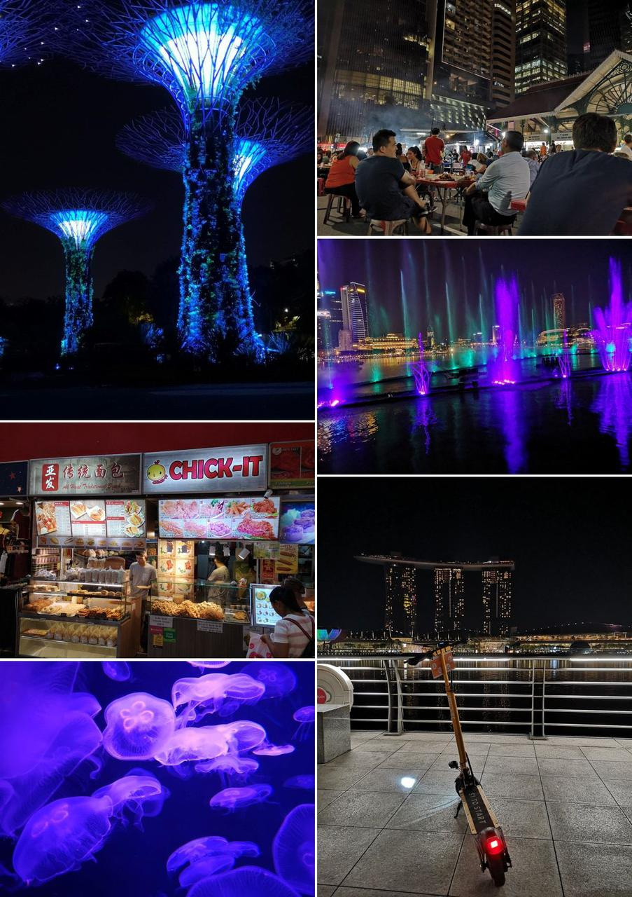 Singapore offers beautiful sceneries, tasty food and many other amazing attractions!
