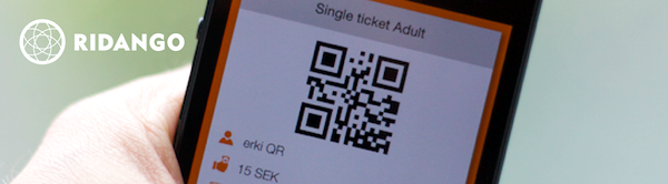 Mobile and QR ticketing