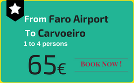 Click to book: Faro Airport - Carvoeiro