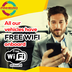 free wi-fi in all vehicles - Taxi Transfers Pinheiro