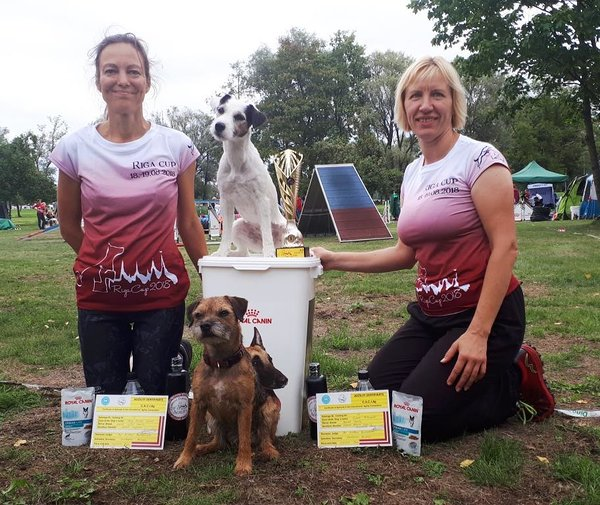 Terrier power! two Riga Cup 2018 winners: mini Sabi and medi Essie