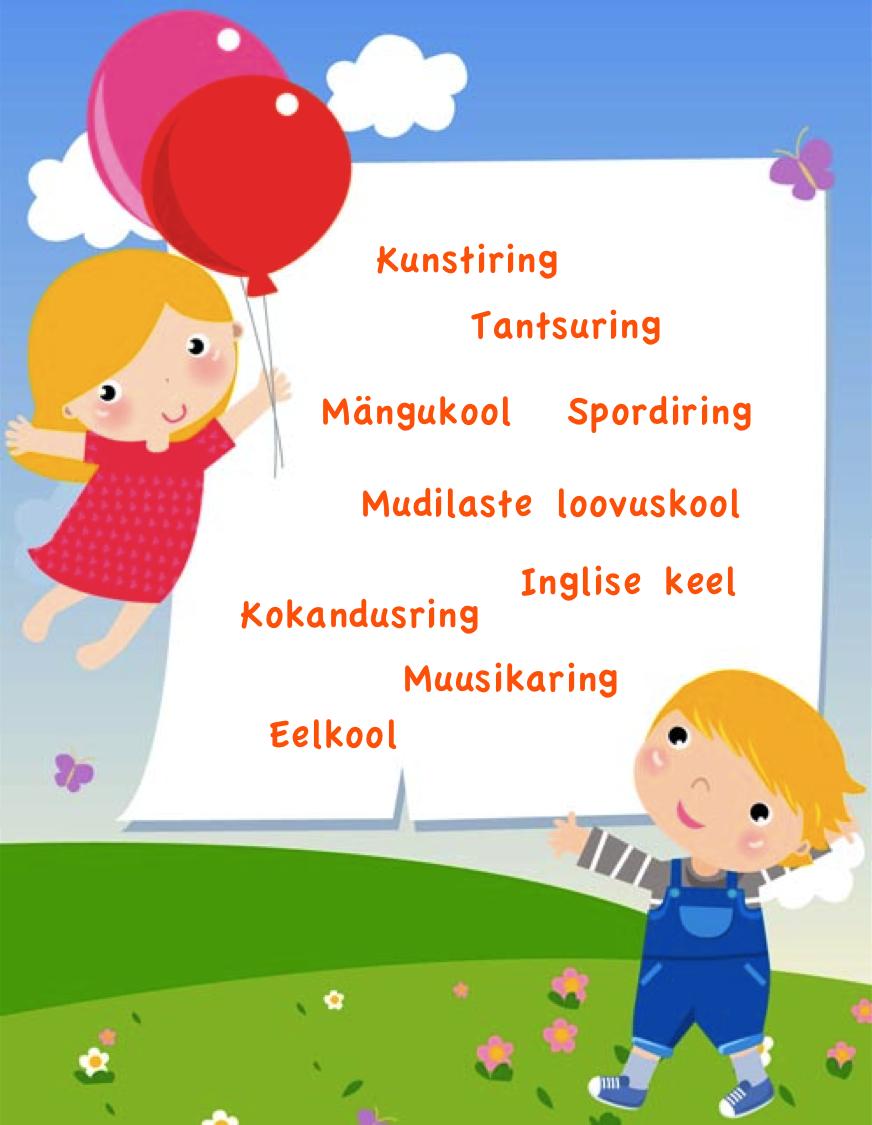 8da8fab4eab Huviringid Kalli-kalli lasteaias 2018/2019 õppeaastal.