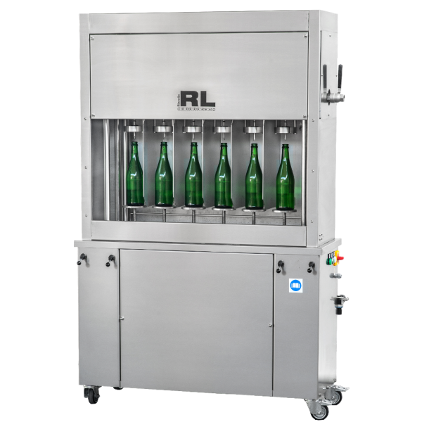 Counter Pressure Filler For Glass Bottles Rizzolio