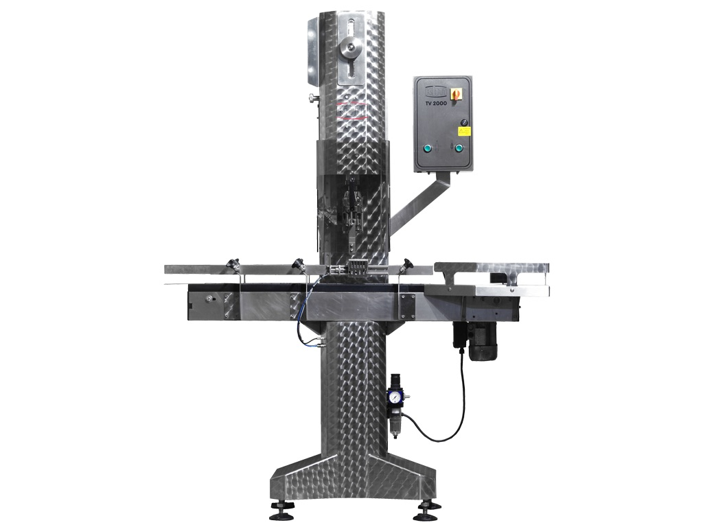 Fully automatic capper TV2000