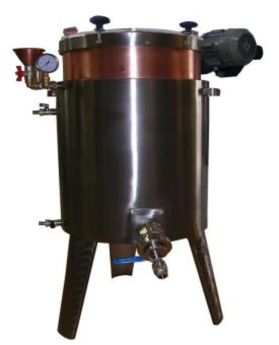Jam boiling tanks with electric stirrer, 20-120 l