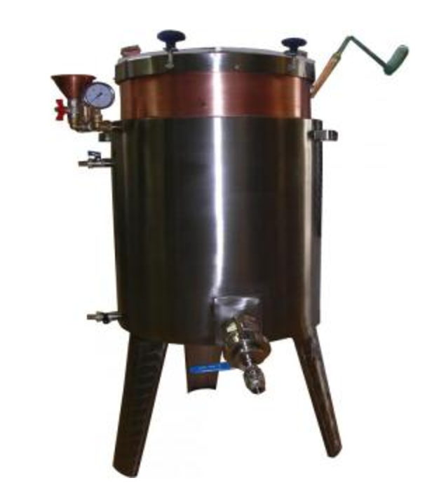 Jam boiling tanks with manual stirrer, 15-120 l