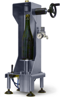Manual wire-hooder PG2010 AM for champagne corks