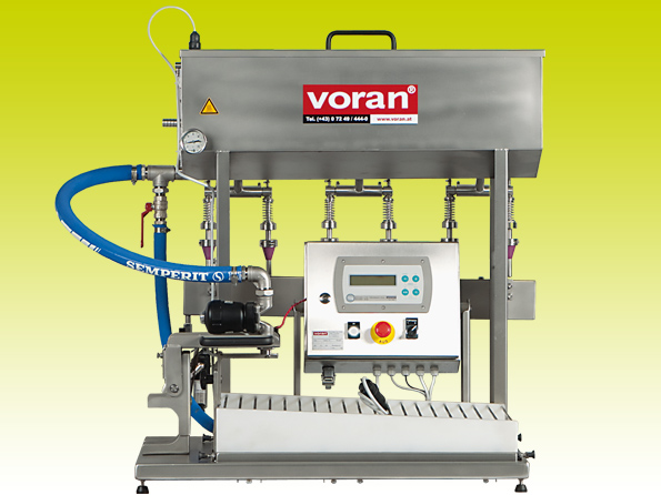 Semi-automatic Bag-in-Box filling machine Voran MBF750