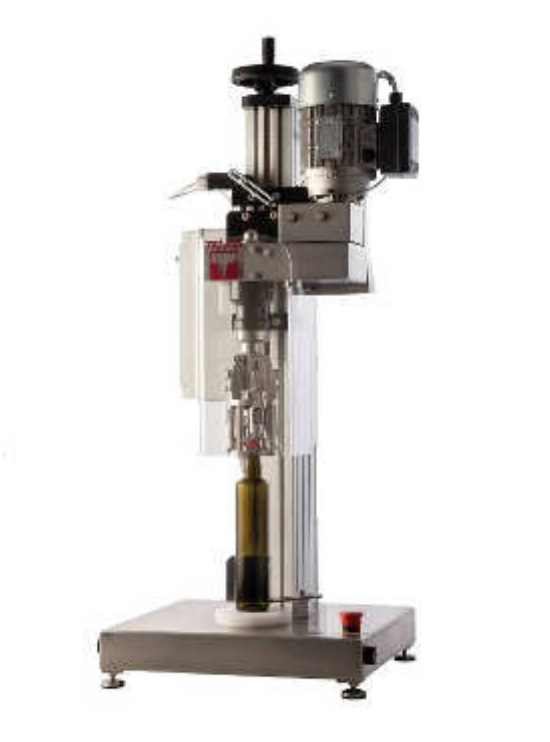 Semi-automatic capping machine for PFP caps Tenco