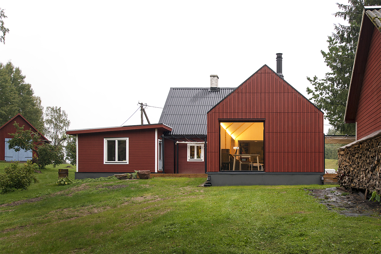 Cottage extension in Otepää