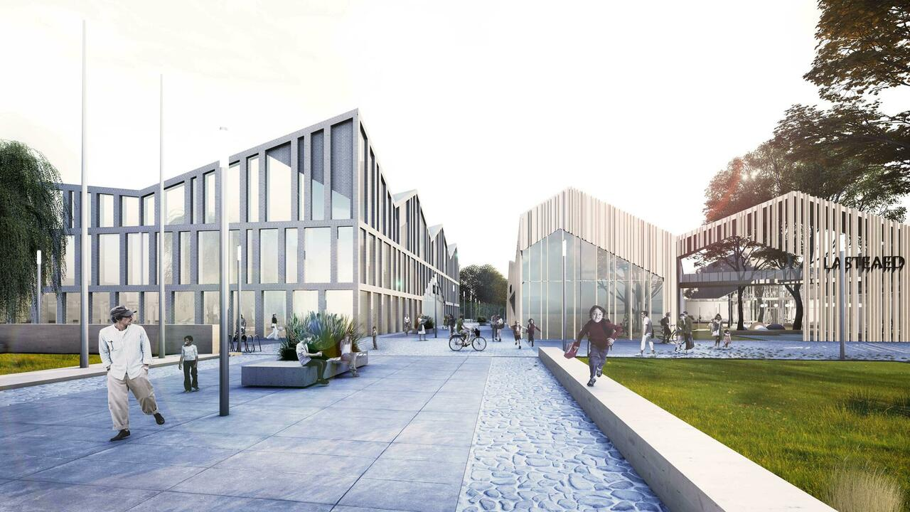 Narva Kraavi educational complex, competition, honorable mention