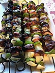 Ducks kabobs -- it's what's for dinner