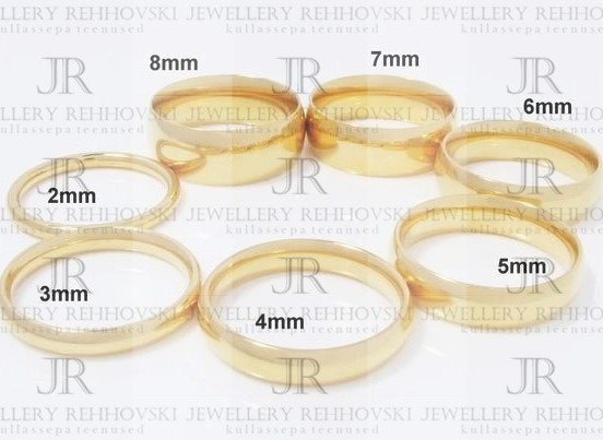 0b75c01a5f1 Abielusõrmused — Jewellery Rehhovski