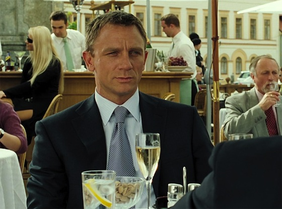 James Bond prefers Bollinger