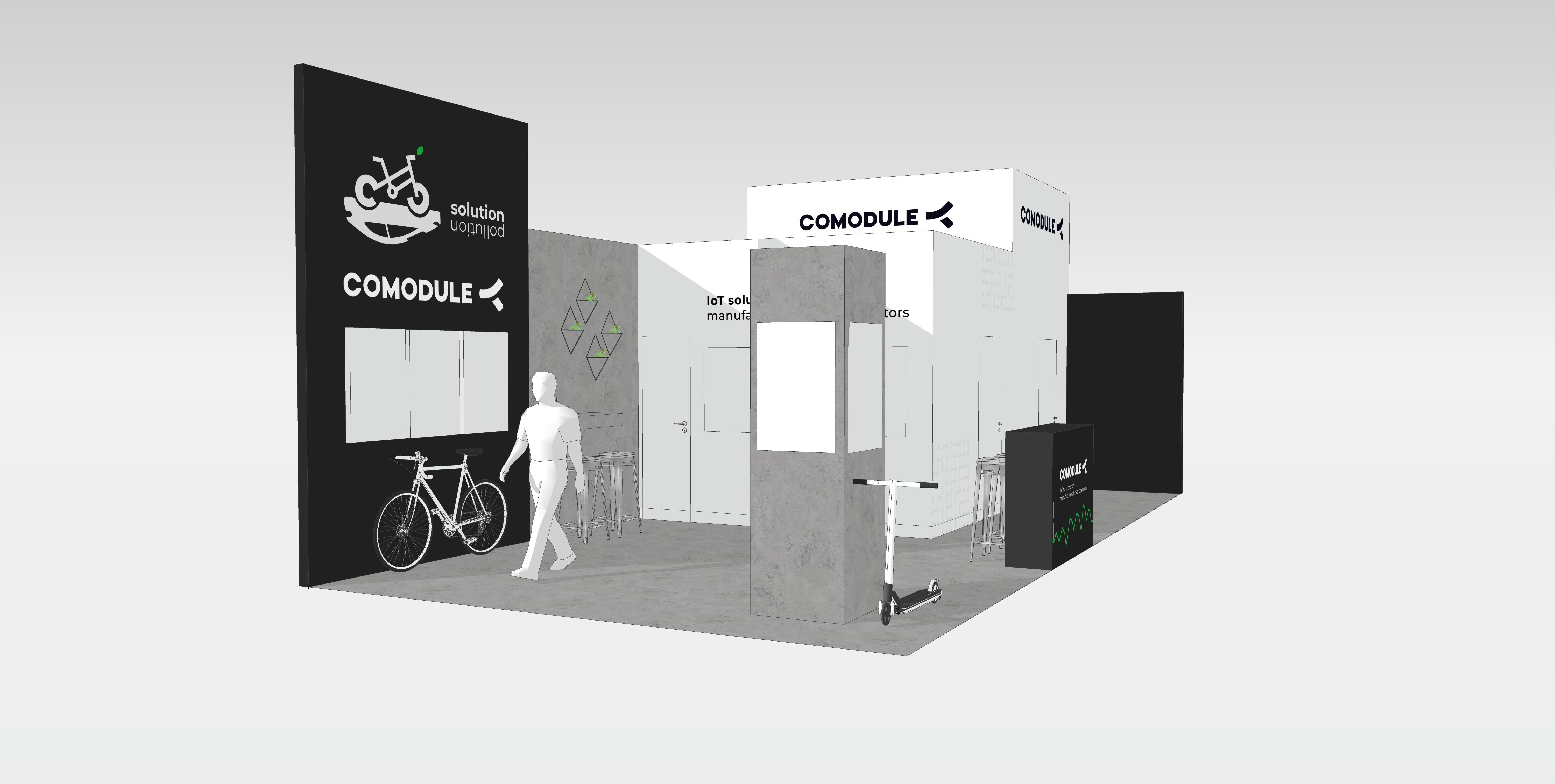 The Value of IoT for the E-Bike Industry Presented at Eurobike 2019 by COMODULE