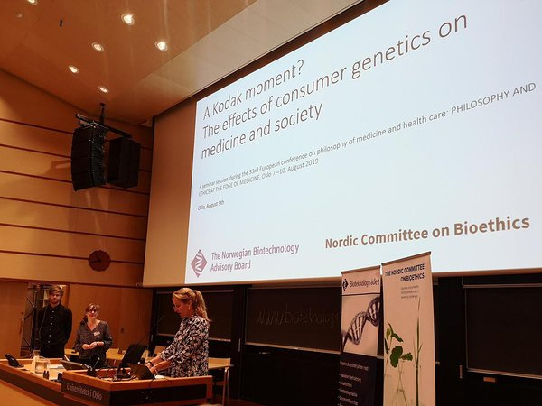 NCBio Chair Isabelle Budin Ljøsne opened the session