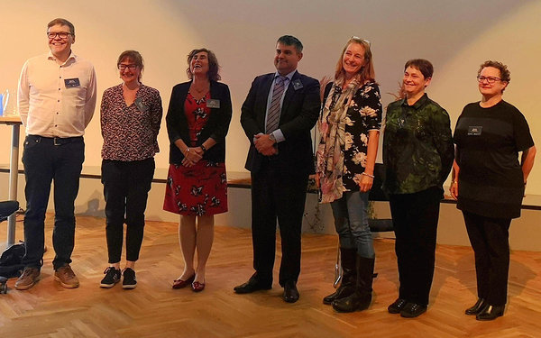 Members of the Nordic Committee on Bioethics (not all present)