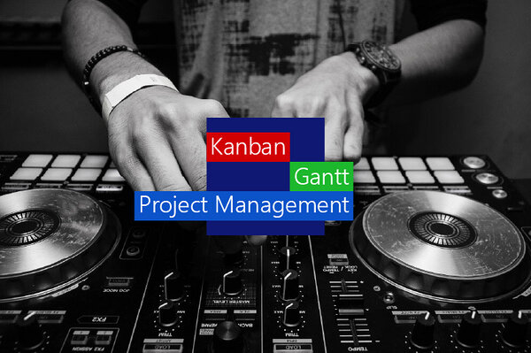 Kanban board Gantt chart project management is a hybrid of Kanban and Gantt and can be overlaid with your preferred project management methodology.