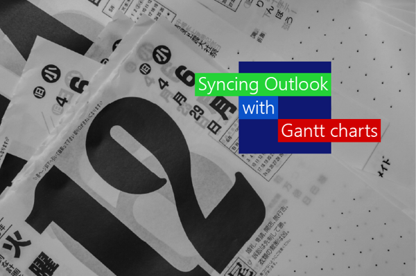 Syncing Outlook calendar with Gantt Charts