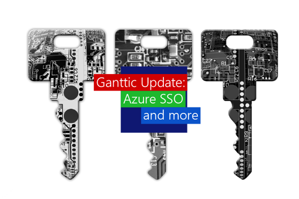 Ganttic's latest update brings better security and customization with Azure SSO and resource profile icons.