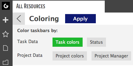 color tasks by tasks