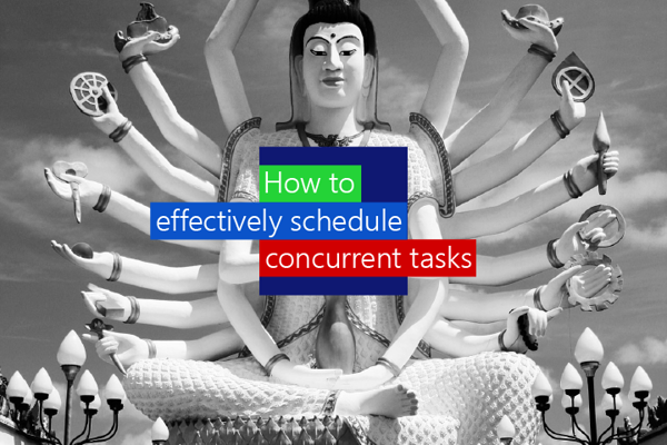 How to effectively schedule concurrent project tasks for your team
