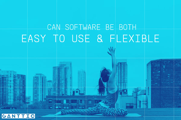 can easy to use resource planning software also be flexible