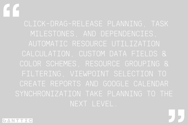 features of a free resource planning software that take planning to the next level