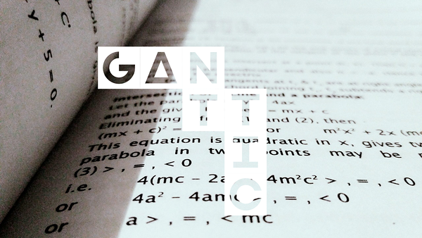 ganttic update equation