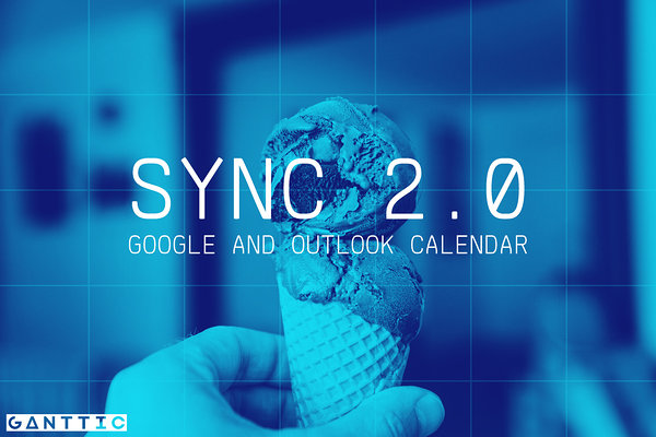 sync gantt charts with google or outlook calendar update