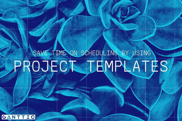 resource management using project templates