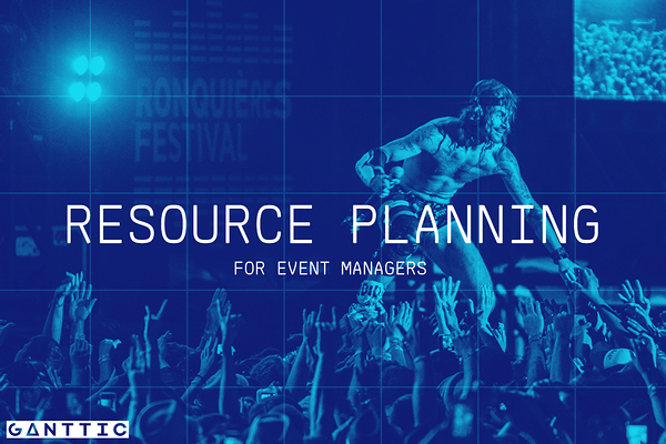 why is resource management important for event managers