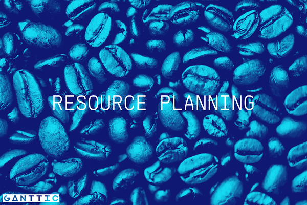 types of resource planning: the actual planning
