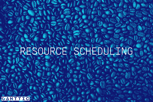 types of resource planning: scheduling