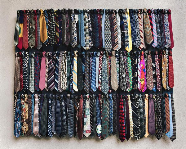 Even if you have a closet full of ugly ties, make sure you work on feigning surprise when your kids present you with another one to the collection.