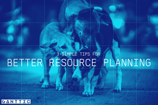 resource planning 3 simple tips