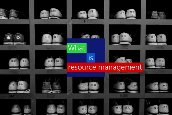 what is resource management in project management?