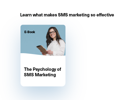 E-book: The psychology of SMS marketing