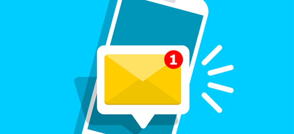 Vector_design_of_SMS_and_smartphone