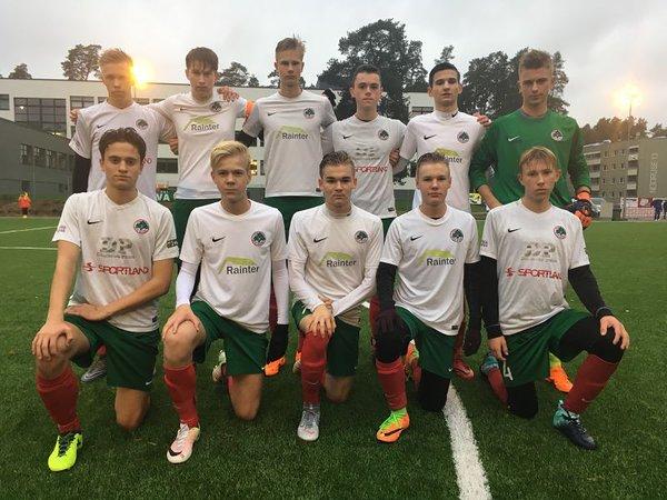 33451f095fe U17 võitis kodus Eesti U15 II koosseisu 3:1 — FC Elva