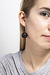 teak wood earrings
